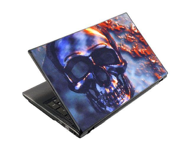 Samolepka na notebook Temná lebka