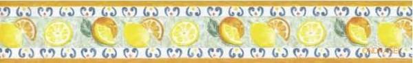 Samolepicí bordura d-c-fix Citrus 5,3cm x 10m