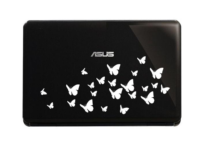Samolepka na notebook Motýlci 1