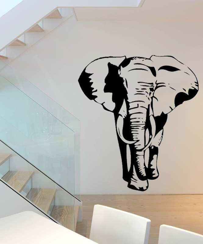Samolepka na zeď Slon