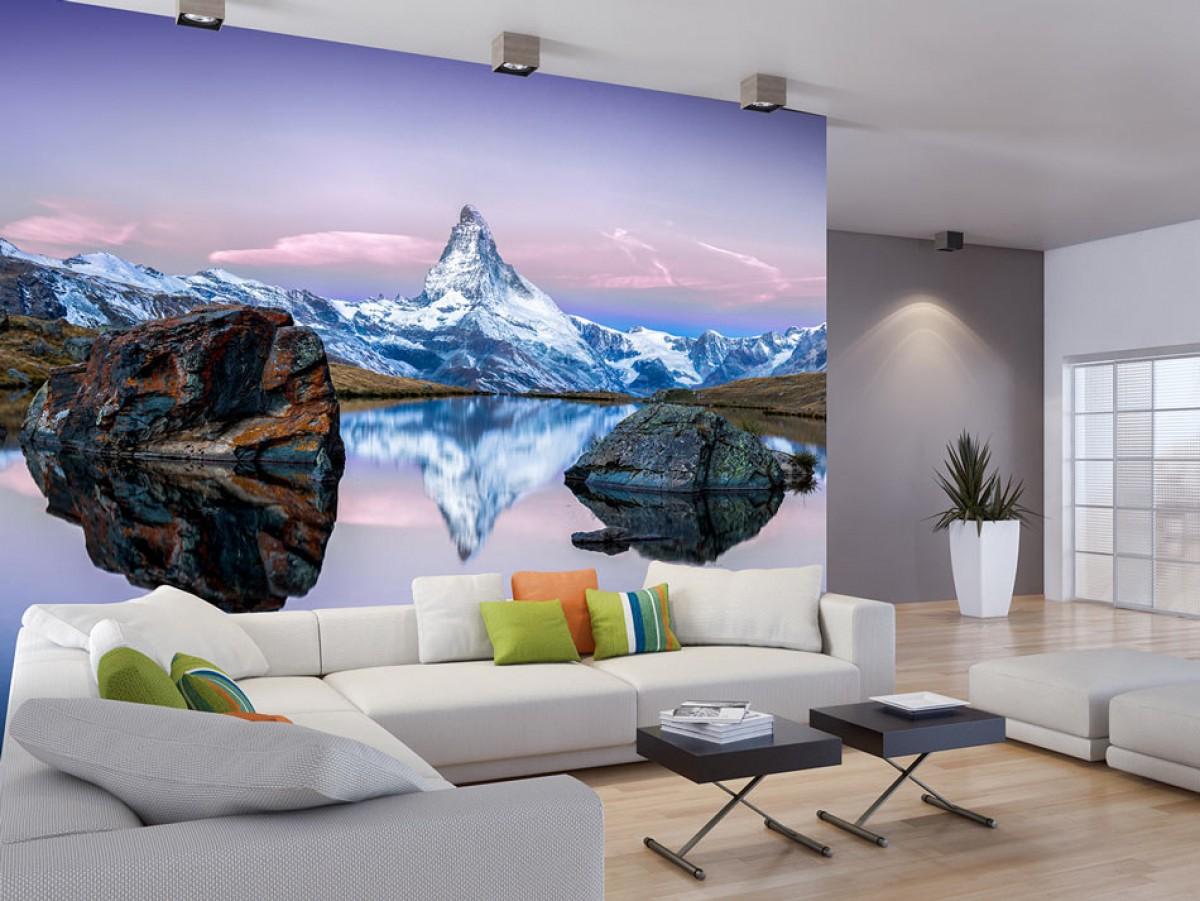 Fototapeta - Odlesk hory