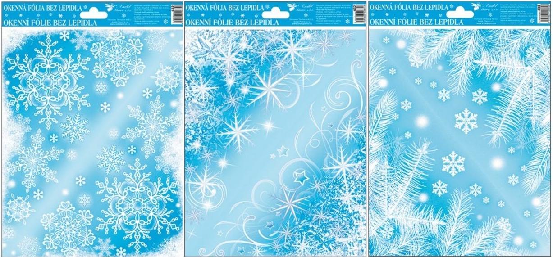 Okenní fólie Ledové rohy set