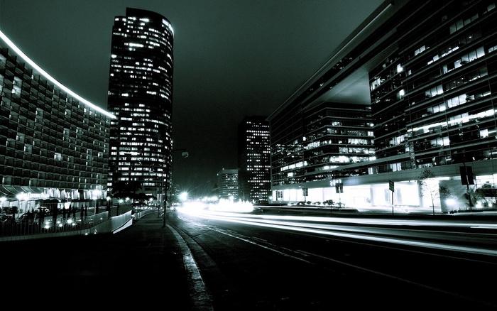 Plakát - Noční metropole