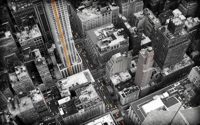 Plakát - Ulice New Yorku