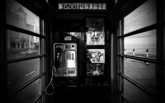 Plakát - Telefonní budka